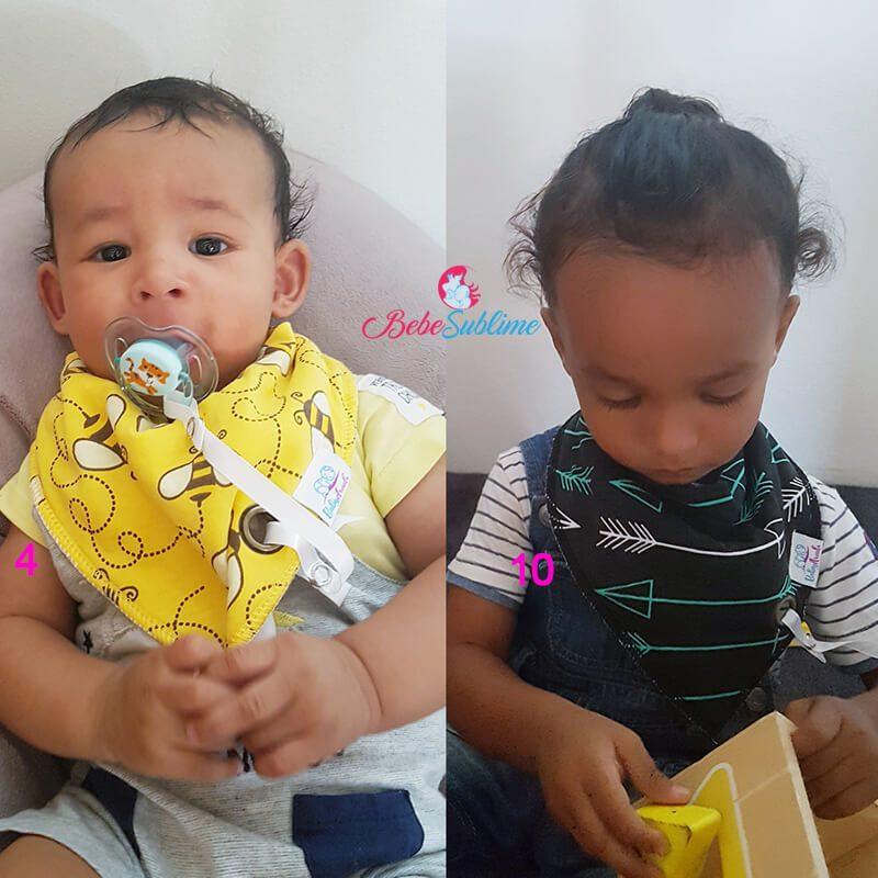 Bavoir bébé pas cher