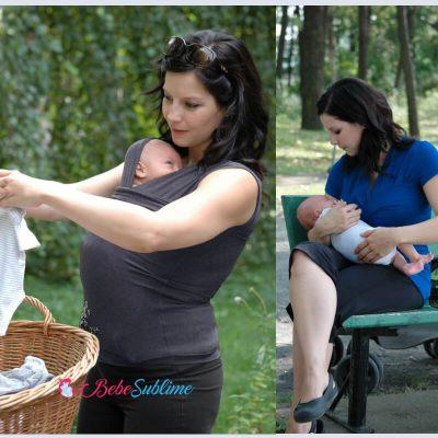Vêtements peau à peau et allaitement